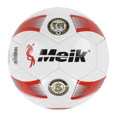 Мяч футбольный Meik , белый C40044