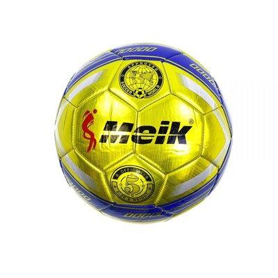Мяч футбольный Meik желтый C34192