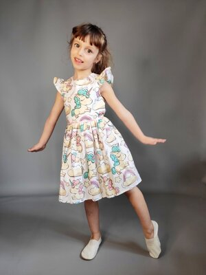 Сарафан платье детское на лето хлопок