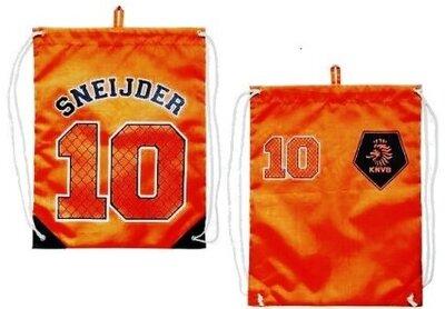 Спортивный рюкзак, котомка KNVB Gymbag Sneijder Nr 10 оранж