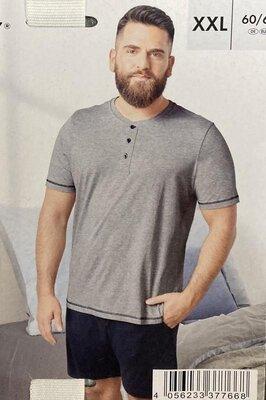 Мужская пижама домашний костюм livergy германия большие размеры