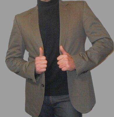 Премиум коттоновый пиджак .Швейцария.