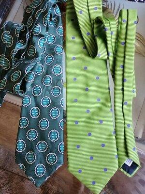Фирменные шёлковые оригинальные галстуки