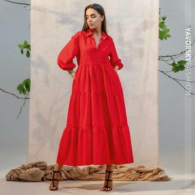 Легкое платье Наоми красивые цвета