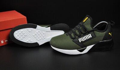 мужские кроссовки Puma хаки 41-46р