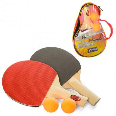 Набор для настольного тенниса MS 1302 в чехле, рокетки, мячики