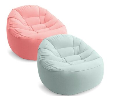 Надувное кресло, шезлонг, мешок 112 х 104 х 74 см 2цвета
