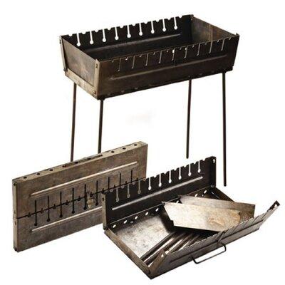 Продано: Мангал, чемодан, Мангал-Валіза на 10 шампурів 57 27 5 см висота ніжки 55см Кк-М10