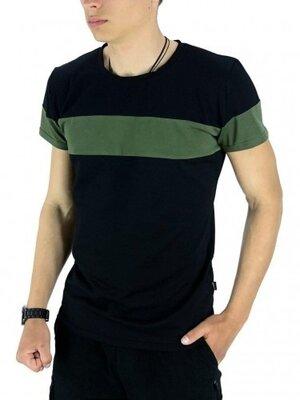 Мужская стильная футболка Color Stripe от Intruder в расцветках