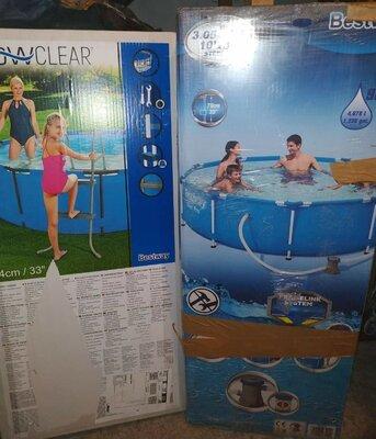 Продано: Каркасний басейн