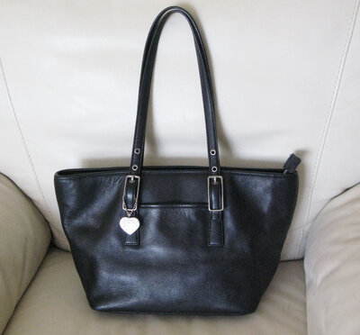 Стильная кожаная сумка сумочка coach натуральная кожа