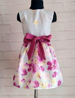 Детское платье для девочек. детское платье на лето. рр 110-146