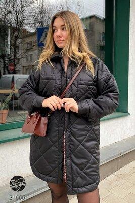 Продано: Женская демисезонная стеганная куртка рубашка Жіноча демісезонна стьобана куртка сорочка
