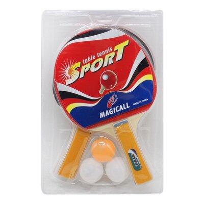Набір для настільного тенісу 2 ракетки і 3 кульки BT-PPS-0009