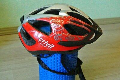 Шолом велосипедний, шлем велосипедный, велошлем Crivit