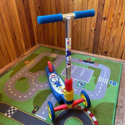 Трехколесный детский самокат Explore Tredia Sport б/у