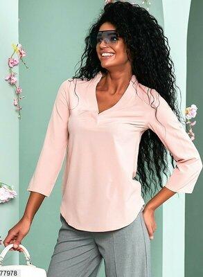 Рубашка с вырезом , разные цвета
