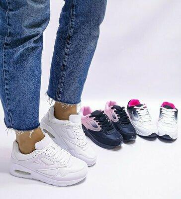 Код 343 -Белый код 342 - Белый розовый код 341 -Черный розовый Женские кроссовки