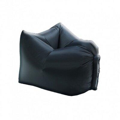 Надувное кресло-лежак Reswing Ламзак Armchair Lamzac Standart Чёрный