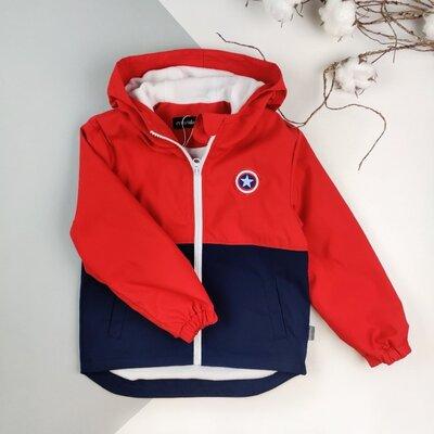Детская ветровка MARAKAS на флисе для мальчика вітровка на флісі для хлопчика летняя куртка