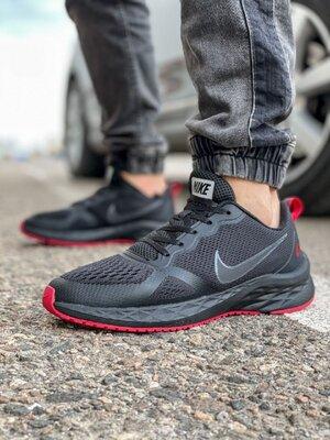 Кроссовки мужские Nike Zoom Winflo 8 TOP , черные