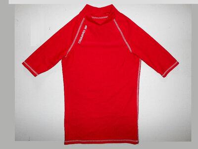 Солнцезащитная гидро футболка для купания гидромайка Tribord