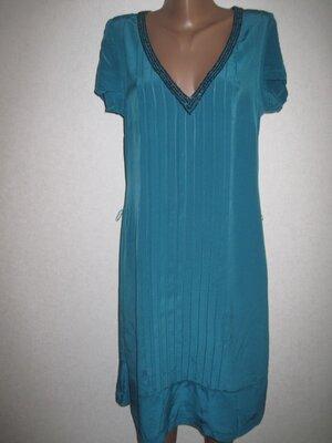 Свободное шелковое платье Whistles р-р12