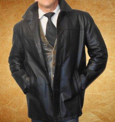 Кожаная куртка.Mauro Ferrini.