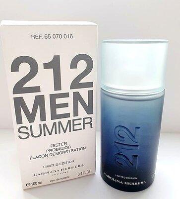 Carolina Herrera 212 Men Summer Туалетная вода