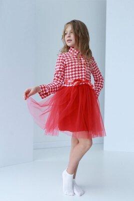 Супер цена Разные цвета Нарядное платье на девочку с пышной юбкой