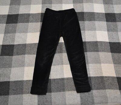 Продано: Теплые бархатные штаны лосины