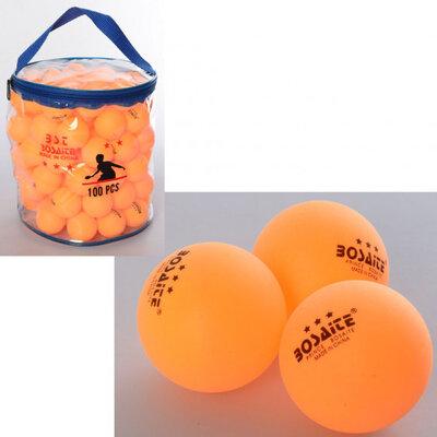 Теннисные шарики MS 2201, 100шт, 40мм