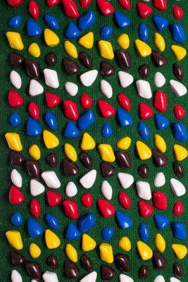 Коврик массажный Ортопед MS-1214-2 Краснй ковролин