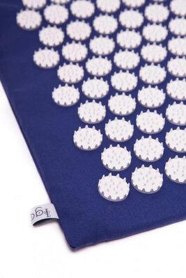 Коврик массажно-акупунктурный Релакс 55 х 40 см синий MS-1251-2