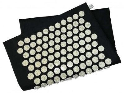Коврик массажно-акупунктурный Релакс 55 х 40 см Черный MS-1251-12