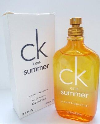 Calvin Klein CK One Summer 2010 Туалетная вода для мужчин и женщин