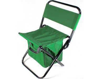 Раскладной стул Кенгуру MH-3071, складной стул со спинкой