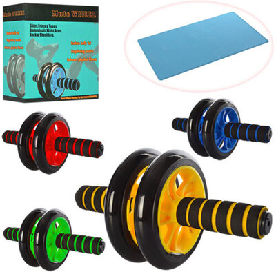 Продано: Тренажер колесо для мышц пресса MS 0872 диаметр 14 см