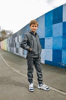 Комплект серый детский Easy softshell 1618229755