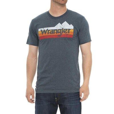 Футболка wrangler rugged wear mountain оригинал из сша
