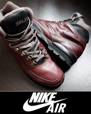 Ботинки NIKE AIR TRAIL US10 стелька 28 см. кожа Original