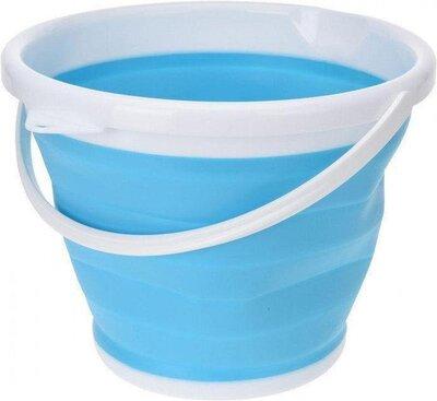 Ведро Туристическое Складное Collapsible Bucket 10 Литров Силикон