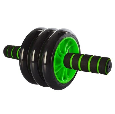 Колесо для мышц пресса green