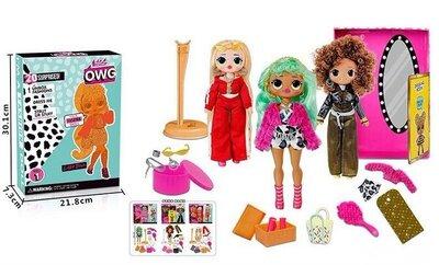 Игровой набор 20 сюрпризов с куклой LOL B 1181 3 вида Лол, кукла Лол.