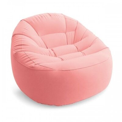 Надувное кресло Intex 68590 Beanless Bag Розовое
