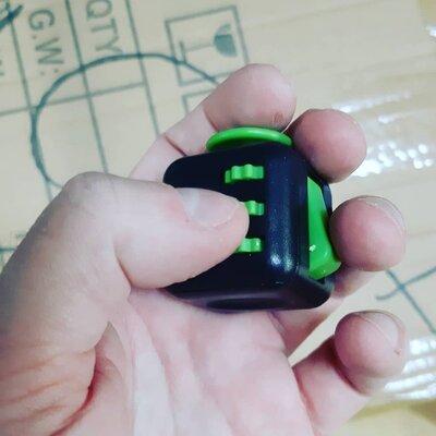 Кубик антистресс, фитжет куб Fidget Cube