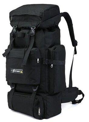 Рюкзак туристический ZX1905 70 л, песочный,черный