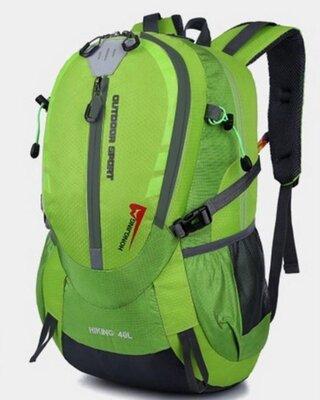 Рюкзак туристический xs2586 зеленый, 40 л. Рюкзаки в ассортименте