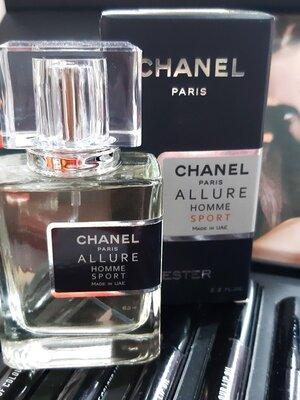 Туалетная вода Chanel Allure homme Sport для мужчин Эмираты стойкий аромат