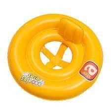 Плотик круг со спинкой Swim safe BW 32027